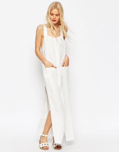 Robe longue fluide blanche.jpg
